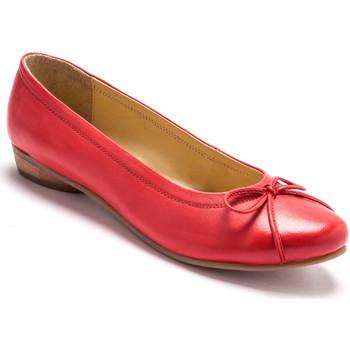 Chaussures Femme Ballerines / babies Pediconfort Ballerines classiques grande largeur corail