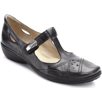 Chaussures Femme Sandales et Nu-pieds Pediconfort Salomés à patte auto-agrippante noir