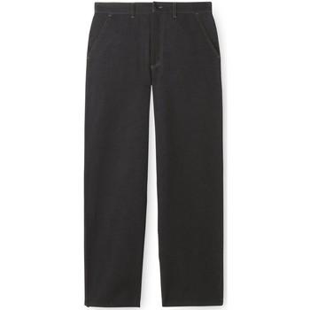 Vêtements Homme Jeans droit Honcelac Jean droit noir