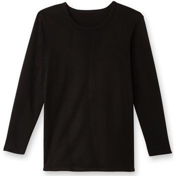 Sous-vêtements Homme Maillots de corps Honcelac Lot de 2 maillots de corps courtelle noir
