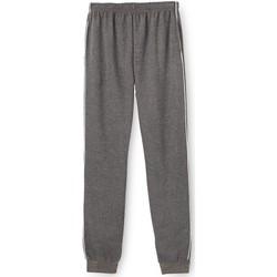 Vêtements Homme Pantalons de survêtement Honcelac Pantalon de jogging en molleton gratté anthracite