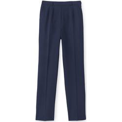 Vêtements Femme Chinos / Carrots Balsamik Pantalon ventre plat grande stature marine