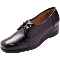 Chaussures Femme Derbies Pediconfort Derbies à lacets en cuir noir