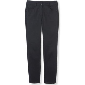 Vêtements Femme Pantalons 5 poches Kocoon Pantalon droit stature + d'1,60m noir