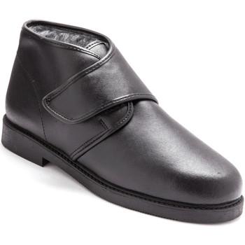 Chaussures Homme Boots Honcelac Bottillons fourrés extra-larges noir