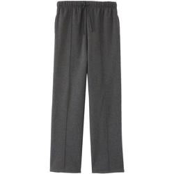 Vêtements Homme Pantalons de survêtement Honcelac Pantalon de jogging classique homme anthracite
