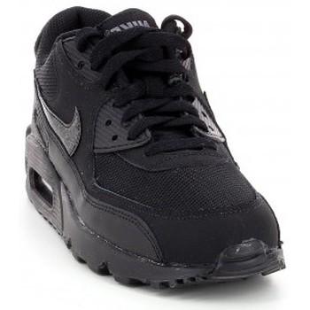 Chaussures Enfant Baskets basses Nike Air Max 90 (GS) - 724824-001 Noir