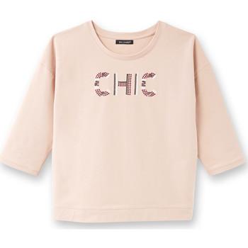 Vêtements Femme Sweats Balsamik Sweat-shirt avec inscription roseple