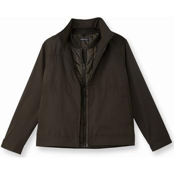 Vêtements Homme Blousons Honcelac Blouson 3 en 1 marron