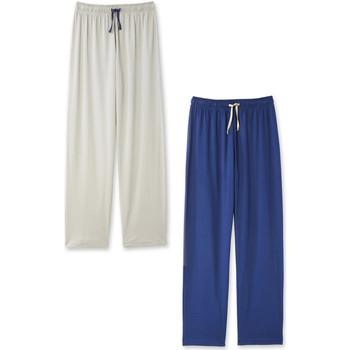 Vêtements Homme Pyjamas / Chemises de nuit Honcelac Lot de 2 pantalons de pyjama à bas droit lot1
