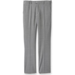 Vêtements Homme Chinos / Carrots Honcelac Pantalon bi-extensible réglable gris