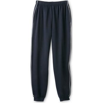 Vêtements Homme Pantalons de survêtement Honcelac Pantalon de jogging en molleton gratté marine