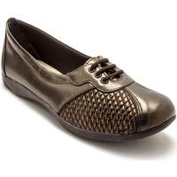 Chaussures Femme Derbies Pediconfort Derbies côtés extensibles cuir mordor