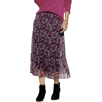 Vêtements Femme Jupes Balsamik Jupe ceinture élastiquée à volant imprimrose