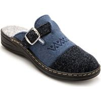 Chaussures Femme Chaussons Charmance Mules fibres recyclées bleumarine