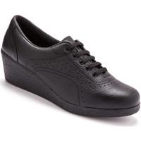 Chaussures Femme Derbies Pediconfort Derbies à semelle compensée noir