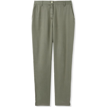 Vêtements Femme Chinos / Carrots Kocoon Pantalon fluide kaki