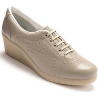 Chaussures Femme Derbies Pediconfort Derbies à semelle compensée beige