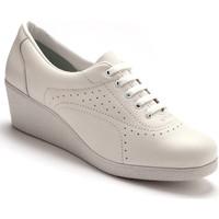 Chaussures Femme Derbies Pediconfort Derbies à semelle compensée blanc