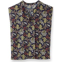 Vêtements Femme Tops / Blouses Balsamik Blouse imprimée imprimmarine