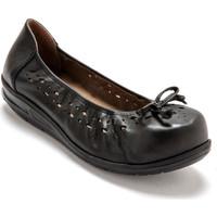 Chaussures Femme Ballerines / babies Pediconfort Ballerines ultra larges semelle amovible noir