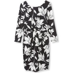 Vêtements Femme Robes courtes Balsamik Robe imprimée imprimnoirblanc