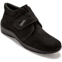 Chaussures Femme Derbies Pediconfort Derbies semelle amovible grande largeur noir