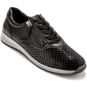 Chaussures Femme Baskets basses Pediconfort Derbies spécial hallux valgus noir