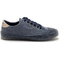Chaussures Femme Baskets basses Pediconfort Derbies à lacets recyclés bleujean