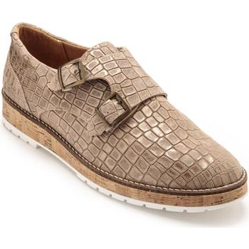 Chaussures Femme Derbies Pediconfort Derbies à semelle amovible taupe