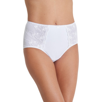 Sous-vêtements Femme Culottes & slips Balsamik Culotte maxi ventre plat blanc