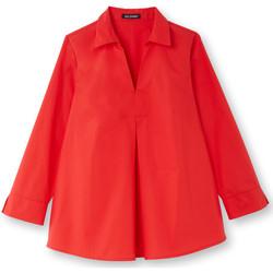 Vêtements Femme Tops / Blouses Balsamik Blouse vareuse rouge