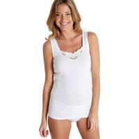 Sous-vêtements Femme Maillots de corps Balsamik T-shirt sans manches bio, lot de 3 lot2blanches1blanchegra