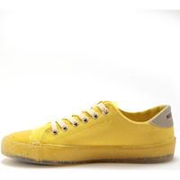Chaussures Femme Baskets basses Pediconfort Derbies à lacets recyclés jaune