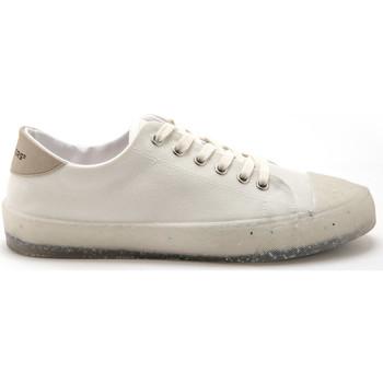 Chaussures Femme Baskets basses Pediconfort Derbies à lacets recyclés blanc