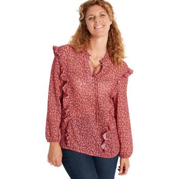 Vêtements Femme Chemises / Chemisiers Balsamik Blouse chic à volants imprimrose