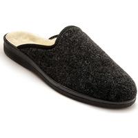 Chaussures Homme Chaussons Honcelac Mules mixtes fourrées laine majoritaire unigris