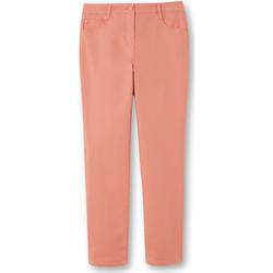 Vêtements Femme Chinos / Carrots Kocoon Pantalon droit stature + d'1,60m corail