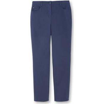 Vêtements Femme Chinos / Carrots Kocoon Pantalon droit petite stature bleuindigo