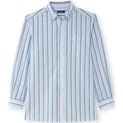 Vêtements Homme Chemises manches longues Honcelac Chemise manches longues beigeray