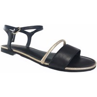 Chaussures Femme Sandales et Nu-pieds Fugitive Drapo Noir et doré