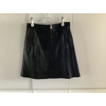 Vêtements Femme Jupes Kookaï Jupe en cuir KOOKAI Noir