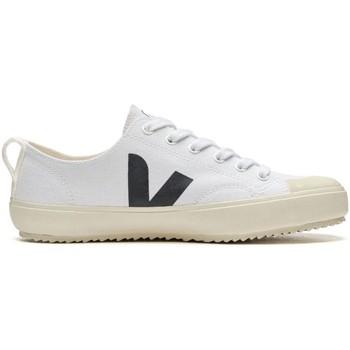 Chaussures Femme Baskets basses Veja Nova Canvas Blanc Noir Blanc Blanc