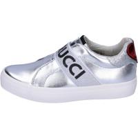 Chaussures Fille Slip ons Fiorucci BH178 Argenté