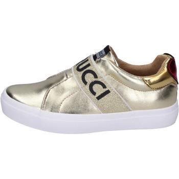 Chaussures Fille Slip ons Fiorucci BH179 Doré