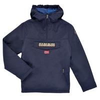 Vêtements Enfant Parkas Napapijri RAINFOREST POCKET Marine