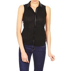 Vêtements Femme Chemises manches courtes Majestic ZOE Noir