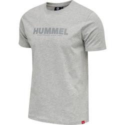 Vêtements Homme T-shirts manches courtes Hummel T-shirt  hmllegacy gris
