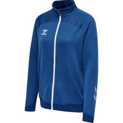 Vêtements Femme Vestes de survêtement Hummel Veste zippée femme  hmlLEAD poly bleu