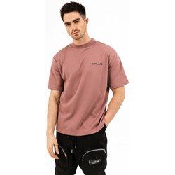 Vêtements Homme T-shirts manches courtes Sixth June T-shirt  essential rose